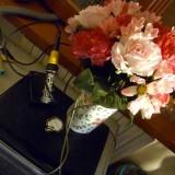 mazzo di fiori con arduino